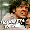 lizfu: (Sammy acknowledges your pain)
