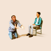 goodbyebird: Community: Troy has a break down from being kept waiting, while Abed remains seated, cool as a cucumber. (Community whyyyyyyy??!)