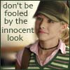 kivrin: Veronica Mars says Don't be fooled by the innocent look (innocent (kelilah))