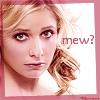 "kivrin: Buffy looking uncertain and saying ""mew?"" (buffy mew (glim))"