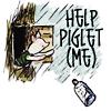 kivrin: Piglet sending for help (help piglet (curtana))