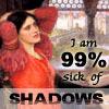 "kivrin: the Lady of Shalott and the words ""I am 99% sick of shadows"" (99% (curtana))"