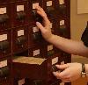 kivrin: my hands at the card catalog (librarian)