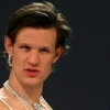 rike_tikki_tavi: Matt Smith in drag with one earring missing (bitch please Matt Smith)