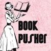 tsukara: (librarians control the world, book pusher)