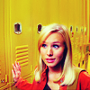 meloukhia: Kristen Bell as Veronica Mars, standing with her hand on her locker and an arch expression on her face.  (Veronica Mars)