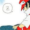 pokemon_champ_red: Red fast asleep (Sleeping)