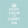 rosewood: standard issue keep calm icon (misc - keep calm)