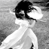 shopfront: Source: Legend of the Seeker. Kahlan, spinning with her skirts and hair spinning out around her, while swordfighting. (LotS - [Kahlan] the righteous fight)