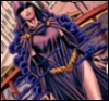 halialkers: Going up in smoke, Raven frontal view, smoke cloud behind her (Comics!Raven5)