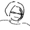 womansurvives: Sketchy self-portrait. (Default)