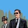 auburn: Pop Art versions of the characters (Skyline Neal & Peter Art)