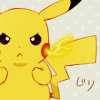 pokemon_champ_red: Pikachu with its cheeks sparking (Pikashock)