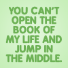 soulswallo: (FF-Quote-The book of my life)