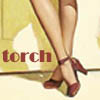 torch: legs of a pinup girl, red high heels (Default)