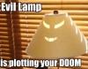 sagesaria: (evil lamp)