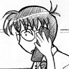 woggy: Dom (from the webcomic Megatokyo) talking on a phone (Dom)