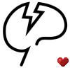 mindcracklove: Mindcrack logo + Faithful32 heart particle (<3)
