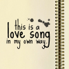 leela_cat: love song in my own way
