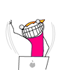 kaigou: Happy typing on mac. (1 Hyperbole and a half)
