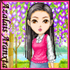tiferet: cartoon of me made with candybar at elouai (Azalais Aranxta)