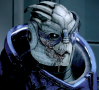 sporky_rat: Garrus, Mass Effect 2 (sick)