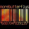 morebutterflys: morebutterflys barcode (barcode)