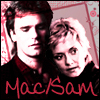 pepper: Sam Carter and MacGyver (Mac/Sam)
