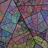 facetofcathy: A multicoloured fractal image. (My Icon on the AO3)