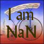 jamoche: Prisoner's pennyfarthing bicycle: I am NaN (Default)