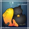 badluck_koi: Koi and Kitty (koi-chama, happy)