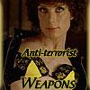 aris_tgd: Kitten showing off her bright yellow bra to fight terrorists. (Anti-Terrorist Weapons)