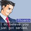 kingmobuk: (Phoenix. Served)