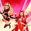 muccamukk: Carol and Wanda fly into battle together. (Marvel: Carol/Wanda)
