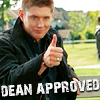 nianeyna: approved by Dean Winchester (dean approved)