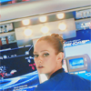 originalpuck: Ensign Slater from Star Trek staring out at screen. (Ensign Victoria Slater)