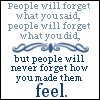 logophile: (People Will Forget)