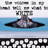 logophile: (Voices In My Head Tell Me What to Write)