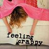 logophile: (Feeling Crappy)