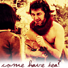 mari4212: Mr. Tumnus inviting Lucy to tea (mr. tumnus)
