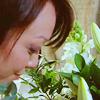 mari4212: Toshiko Sato smelling flowers (Tosh)