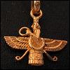 frandroid: A faroher, emblem of the Zoroastrian religion (religion)