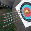 leanne: Twenty-six out of thirty (archery)
