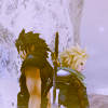 enchanting_muse: Zack & Cloud - Crisis Core (FF7)
