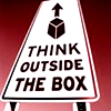 shinyhappyrae: (think outside the box)