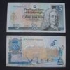 tree_and_leaf: Both sides of the RBS golf £5 note, showing the Old Course at St Andrews (st andrews money)