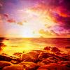 merryghoul: beach sunset (beach sunset)