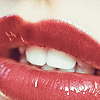 ocean_aster: A pair of lips with red lipstick (lips)