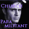 "tree_and_leaf: Purple tinted black and white photo of moody man, caption Church Paramilitant (image from ""Ultraviolet"") (Church Paramilitant)"