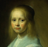 "marcellinafuriosa: Jan Cornelisz Verspronck, ""Girl in a blue dress"" (little girl)"